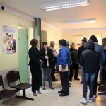 com ago visita funcionarios Castro