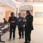 com ago visita funcionarios Castro 4