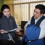 com ago visita funcionarios Castro 8