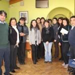 com ago visita funcionarios Castro 9