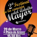 afiche festival del adulto mayor
